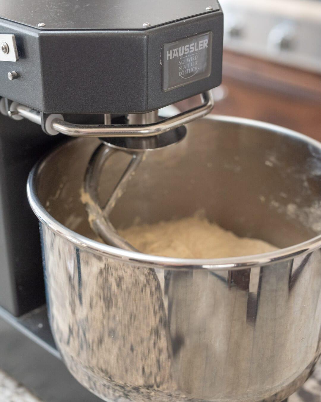 Haussler alpha mixer
