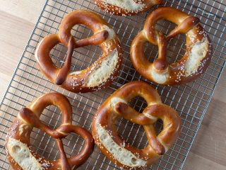 Seriously Soft Sourdough Pretzel via @theperfectloaf