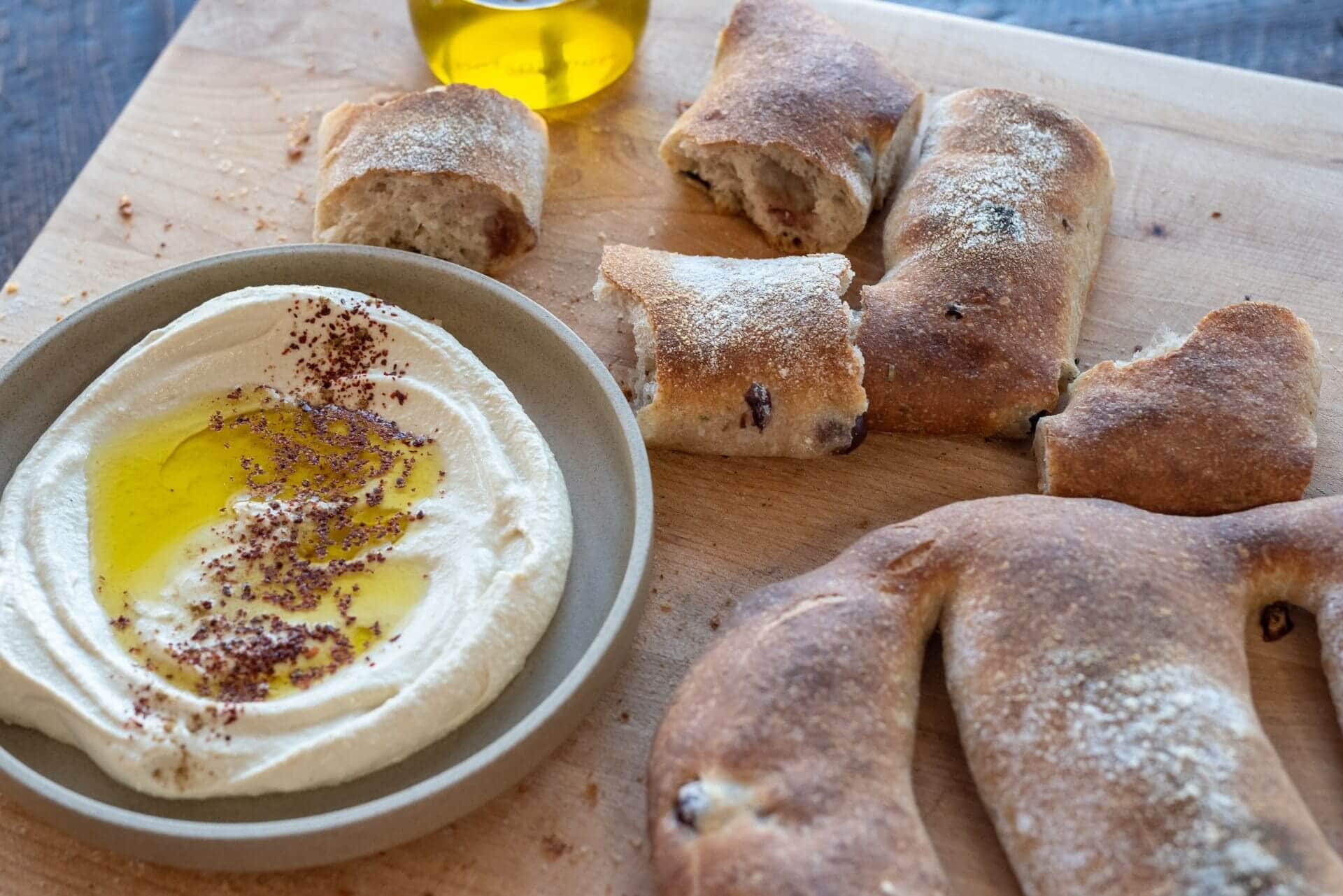 Sourdough Fougasse via @theperfectloaf