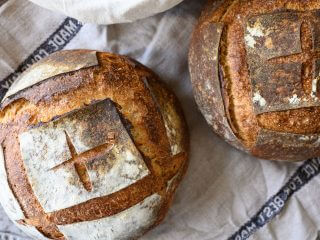 Simple Weekday Sourdough Bread Recipe