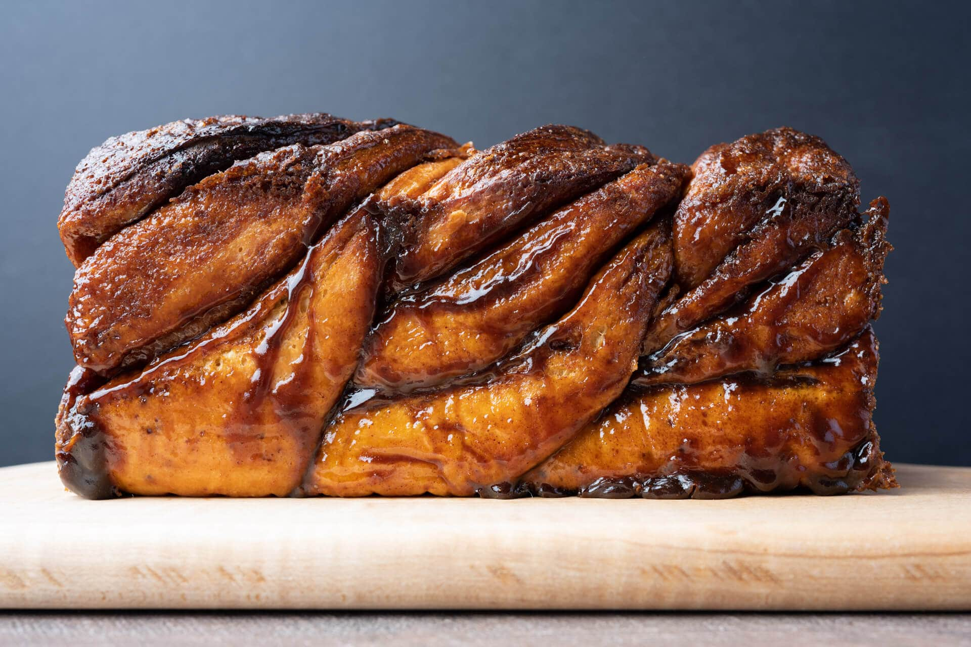 Sourdough babka exterior