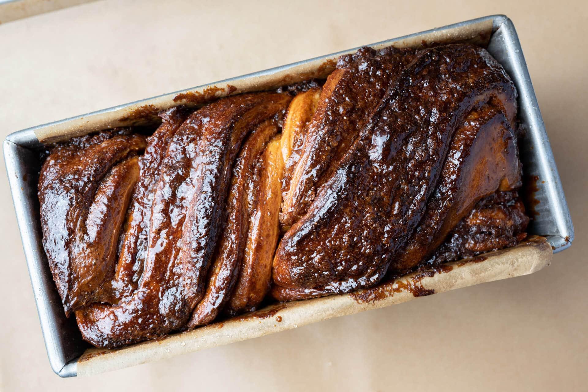 Sourdough babka crust