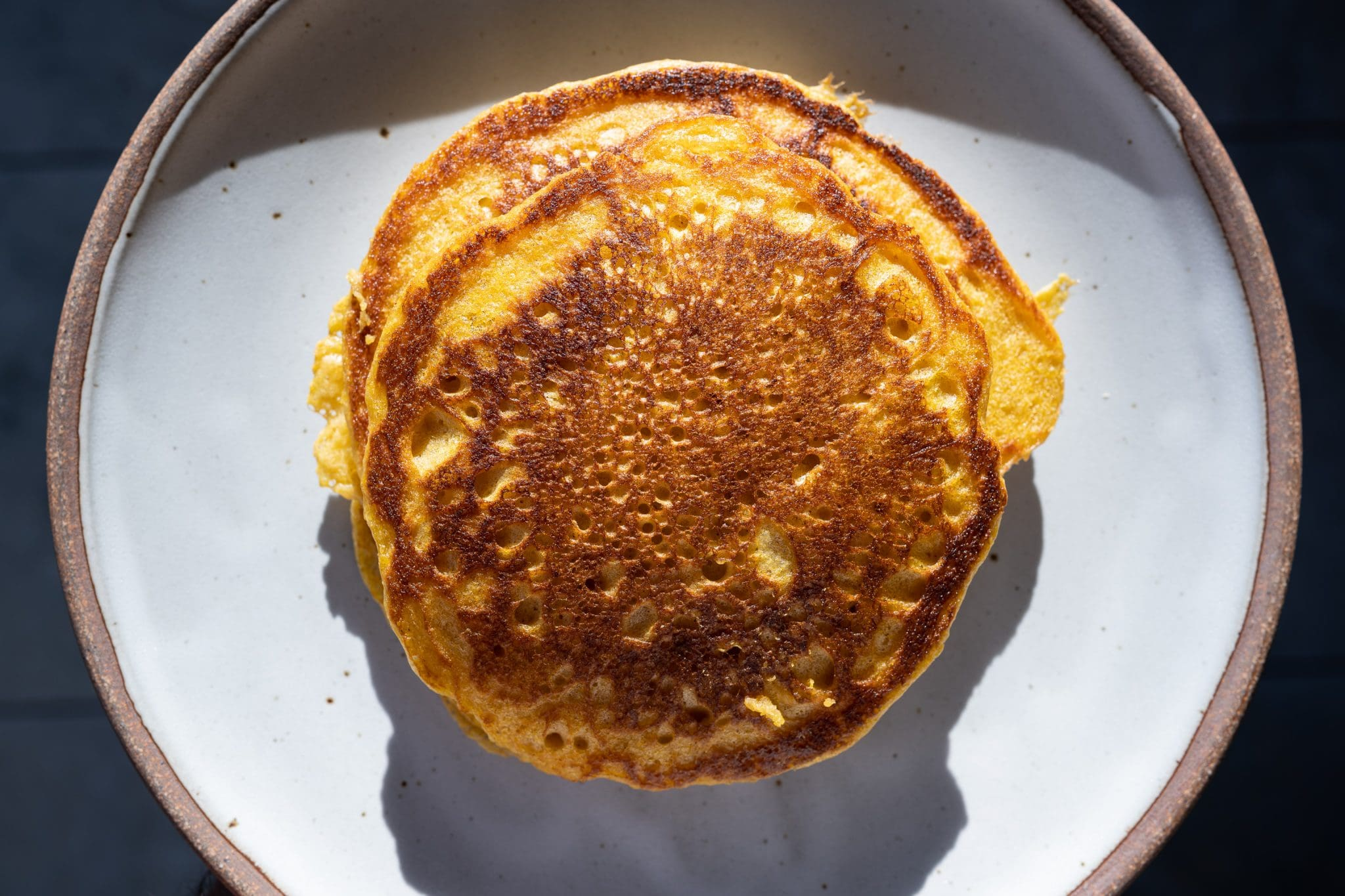 Sourdough pumpkin pancakes