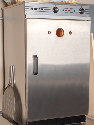 Rofco B40 bread oven at home