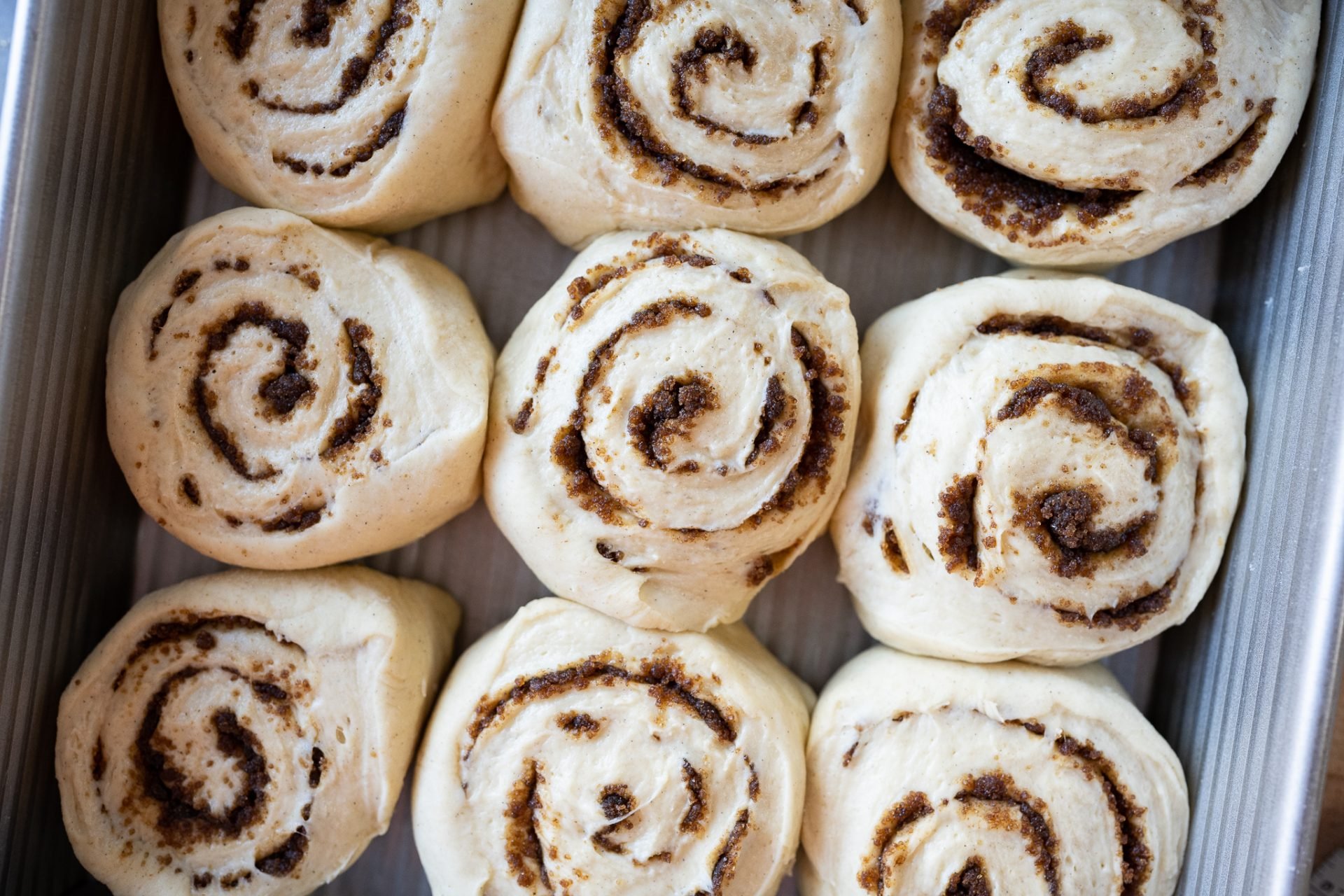 Sourdough cardamom dough before proof