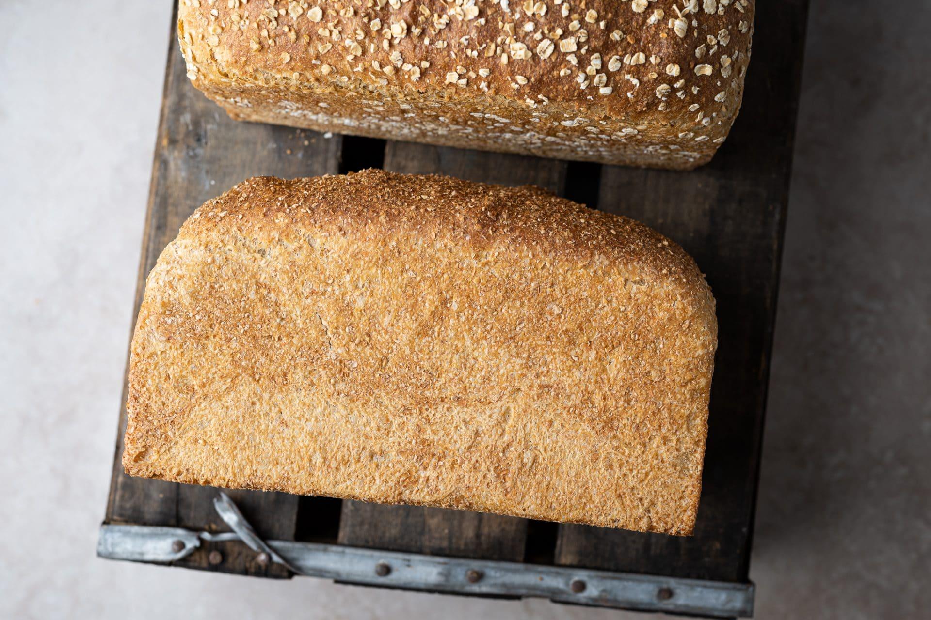 Sandwich bread crust
