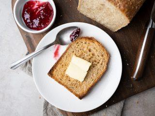 Soft honey buckwheat sandwich bread